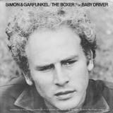 'The Boxer / Baby Driver' ~ Simon & Garfunkel (7'' Single Cover)
