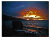 Scallastle Sunset