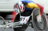 Wheelchair Long Distance Relay at Kyoto
