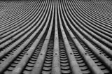 Tiled roof at Higashi-Honganji Temple Kyoto