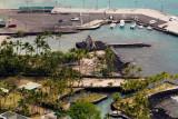 C1060 Pier and Ahu'ena Heiau in Kona