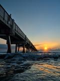 Sunrise Beside the Pier
