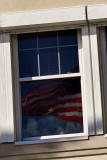 Flag in a Window