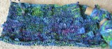 Monet Waterlily Bag Progress & Yarn