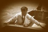 On Beken's boat