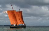 La Fête des Voiles Rouges 2012, à Séné, Golfe du Morbihan