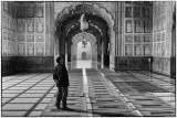 Inside the mosque, Lahore