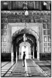 A mosque guard