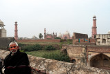 From the fort