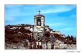 Marcant el GR Vallibona-Morella.1986