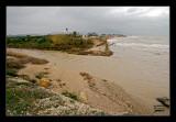 Desembocadura del riu de la Sénia. Sol de riu