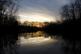 Powel Crosley Lake Autumn Sunset