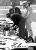 Jody Sheckter and Dennis Hulme