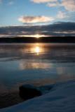 Canandaigua Lake in January