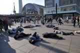 Protesters in Alexander Platz