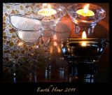 Earth Hour Abstract