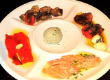 Appetizer Plate at Cabaña Las Lilas