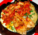 Sizzling Chicken & Shrimp
