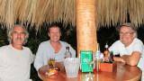 Vince, Paul, Paul at Mango Rosa