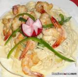 Jumbo Shrimp Spaghetti