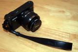Nikon AH-N1000 Black Leather Hand Strap