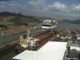 Celebrity Infinity ... Miraflores Locks