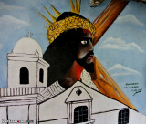The Black Christ of Portobelo (mural)