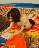 Ben Drawing, 2001, Elizabeth Peyton, American, b 1965