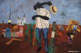 Hoeing, 1943, Robert Gwathmey, American, 1903-1988