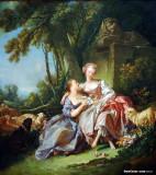 The Love Letter, Francois Bocher