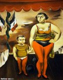 Strong Woman and Child, 1925