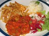 Chicken in Tomato & Mushroom Sauce