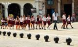 schoolchildren outing