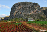 dramatic landscape of the Vinales valley