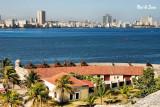 view of Havana from El Morro Fort