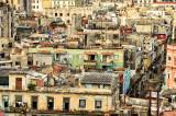 across the rooftops of old Havana