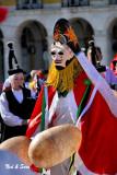 the peliquerios'  costumes were very unique