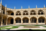 interior courtyard St Jeromes Monastery