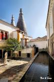 courtyard of  Sintra Castle