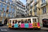 one of Lisbon's  celebrated streetcars