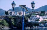 Bali Lamp Post