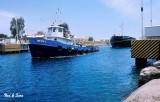 Corinth  Canal Tug