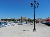 Arriving at the island of Aegina
