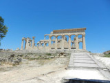 Ariving at the Temple of Aphaea