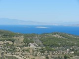 View from the hill of Aphaea, across to Athens