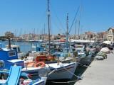 The harbor on Aegina