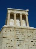 One of the temples on the acropolis hill