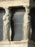Columns near the Parthenon