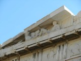 Cool sculpture at top of Parthenon