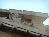 Sculpture on top of Parthenon